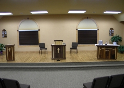 Rock Valley United Reformed Church Sanctuary